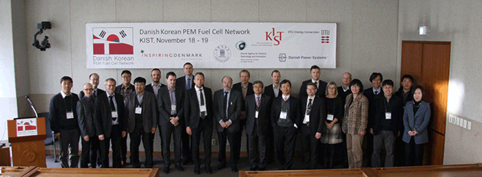 Danish Korean PEM Fuel Cell Workshop succesful - DTU Energy